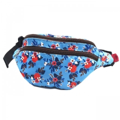 Birch Floral Gifts Bag Flower Fanny Pack Hip Waist Canvas Bum Belt Hip Pouch Bags