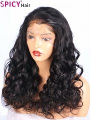 Spicyhair 200% density So natural looking Loose wave for women full lace wig