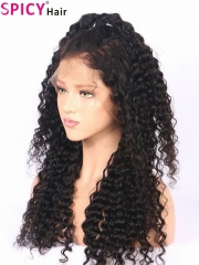 200% density no tangle deep wave 360 lace wig