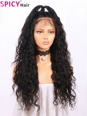 200% good look wig for women wavy 360 lace wig