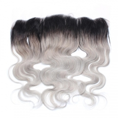 Spicyhair 100% Tangle Free 1b/gey Bodywave Frontal