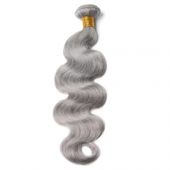 Spicyhair 100% No Shedding Grey Bodywave Bundles