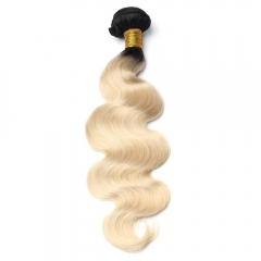 Spicyhair 100% No Tangle 1b/613 blonde Bodywave Bundles
