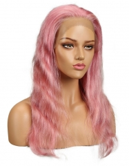 Spicyhair 150% density Fashional Pink bodywave full lace wig
