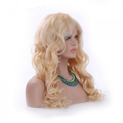 Spicyhair  Hight Quality #613 Blonde Wavy lace front wig