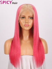 Spicyhair Fashional #613 root red color straight lace front wig