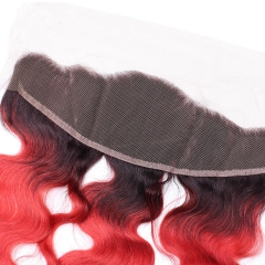 Spicyhair 100% popular shining 1b/red Bodywave Frontal