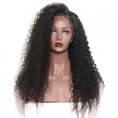 Spicyhair High Quality No shedding kinkycurly 360 human hair lace wig
