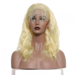 Spicyhair 100% Human Hair Fashional looking Body Wave Blonde 360 Frontal