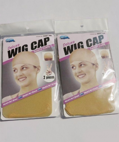 Wig Caps Wig Accessories 2 Wigs Hair Tools Nude Color Elastic Comfortable Cap 2pcs/Pack,5Pack