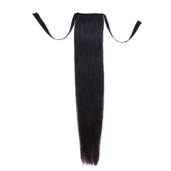 Spicyhair 10A 100% Top Quality Virgin Human HairSelling directly from factory Straight Ponytails.