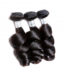 Spicyhair 100% Virgin Human Hair nochemical process  Loose Wave Bundles