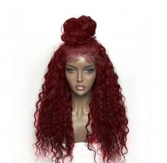 Spicyhair  Top Quality Wig selling directly from factory  99J Loose Curl full lace wig 100% human hair hd lace wig