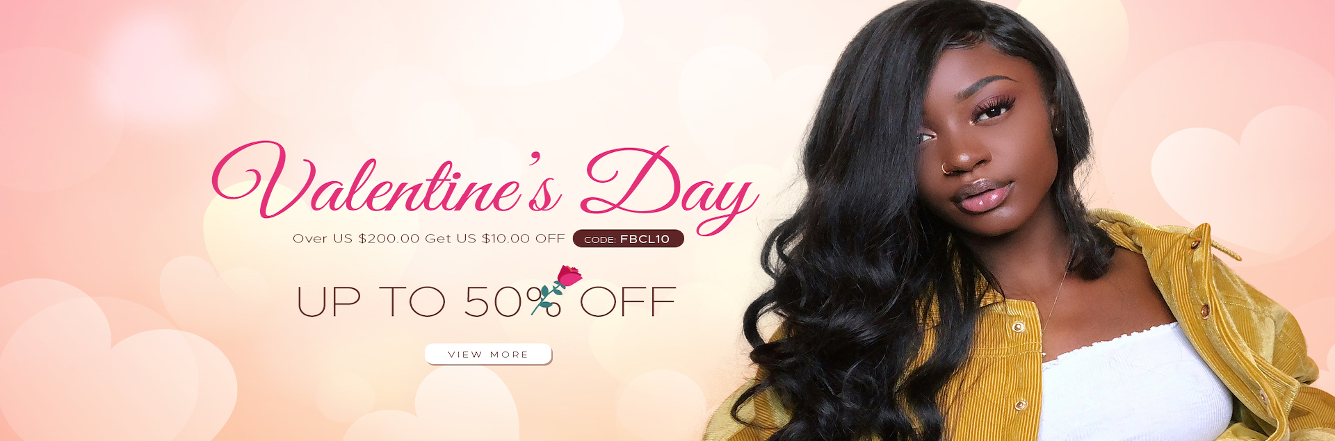 Spicyhair Valentine's Day Hair Sale!