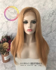Spicyhair 150% DENSITY  Top Quality 100% Real HumanWig #27 Straight full lace wig selling directly from factory