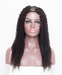 Spicyhair 200% density no shedding kinky curly U-part full lace wig Best Quality 100% Human Wigs Selling directly from Factory