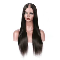 Spicyhair 200% density no shedding no tangle silky straight U-part full lace wig Best Quality real Human Wigs Selling directly from Factory 3-4 days D