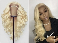 Spicyhair 150% density #613 Blonde Loose Wave full lace wig transparent lace gluelesss wig Best Quality with good price dh lace wig