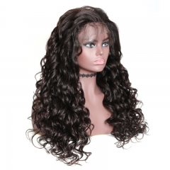 Spicyhair  cheap wig for black women wavy human hair lace front wig 180% density afforable wig.