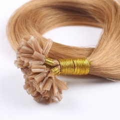 Spicyhair 100%  human hair Top Quality Virgin Human Hair Brown Straight U-tips