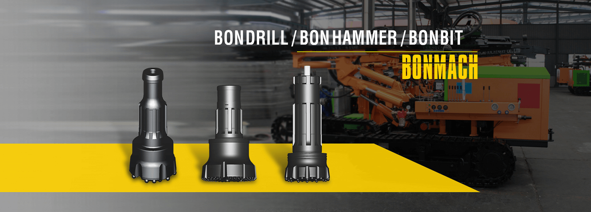 BONMACH-Rock drill bits manufacturer and supplier