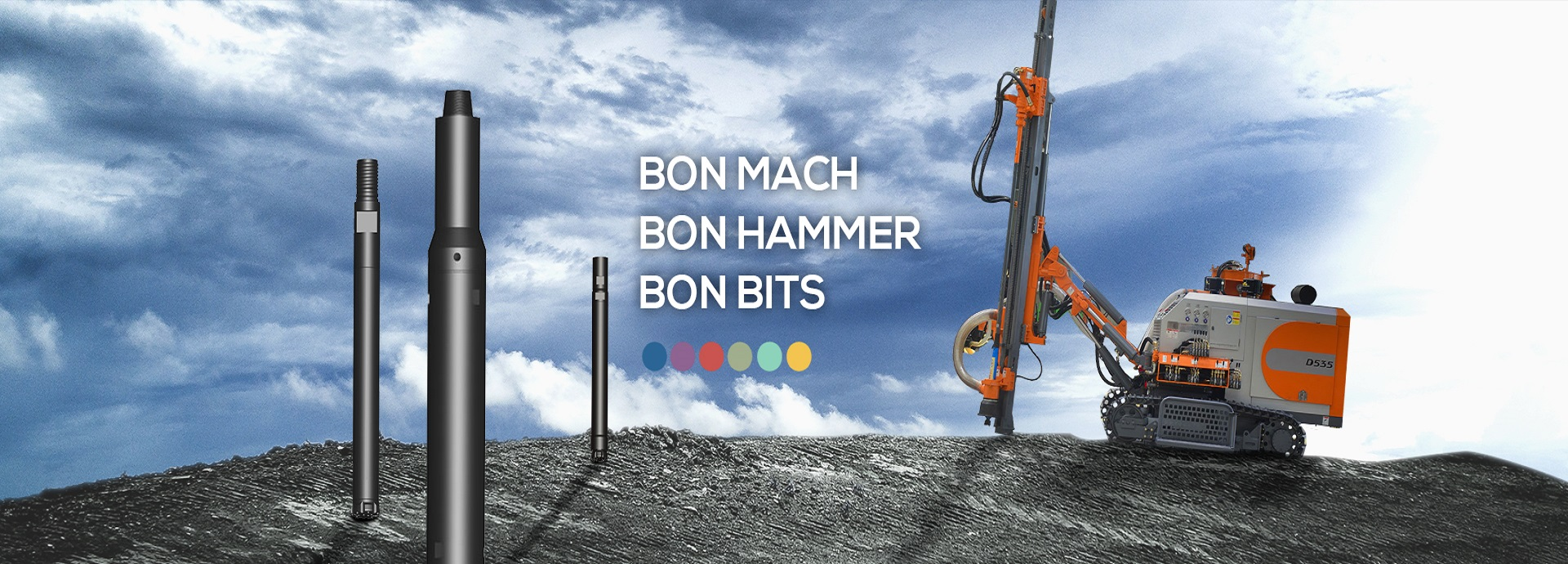 BONMACH-Rock drill hammers manufacturer and supplier