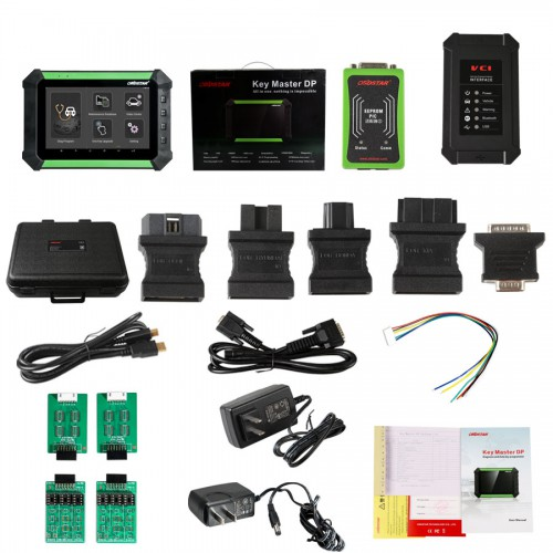 OBDSTAR X300 DP X-300DP X300dp PAD Key Master Tablet Key Programmer Full Configuration Support Toyota G & H Chip All Keys Lost and BMW FEM/BDC