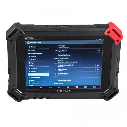 XTOOL X100 PAD2 X100pad2 Special Functions Expert Update Version of X100 PAD