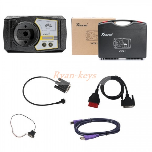 Original Xhorse VVDI2 Commander Programmer with Basic, VW Module Plus 5th IMMO Authorization and Porsche Function
