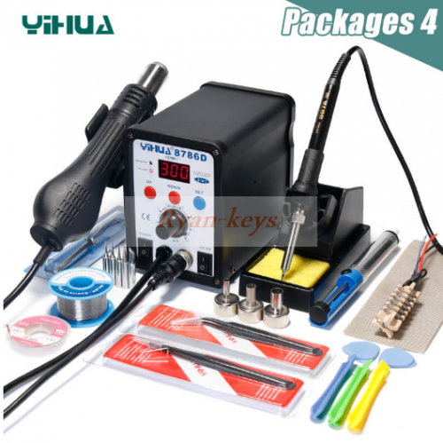 YIHUA 8786D Rework Station Digital Display Iron Soldering Stations
