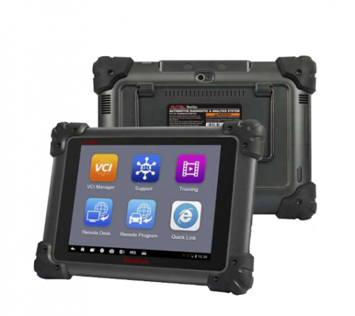 Autel Maxisys MS908 Automotive Diagnostic Scanner Tool and Analysis System with All Systems Diagnosis and Advanced Coding