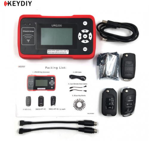 New KEYDIY URG200 Remote Maker the Best Tool same fuction as KD900 Car key programming for Remote Control Unlimited Token