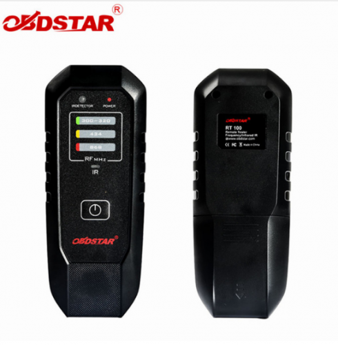 OBDSTAR RT100 Remote Tester Frequency Infrared IR RT 100For 300Mhz-320Mhz/434Mhz/868Mhz with Top Quality