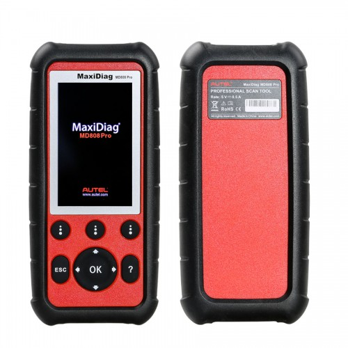 Autel MaxiDiag MD808 Pro All Modules Scanner Code Reader (MD802 ALL+MaxicheckPro)Update Online Free Lifetime
