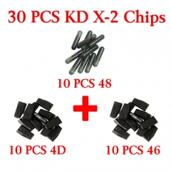 30 pcs Chips for KD-X2 4D 46 48 chip 10 pieces each
