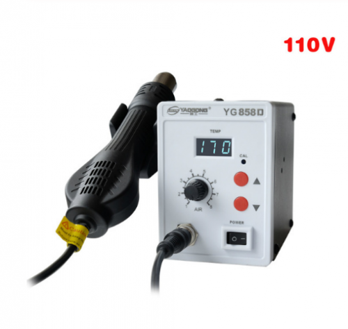 YAOGONG 8586 rework station Double digital 2 In 1 smd rework soldering station hot air mobile phone repair tools .jpg Product Description Product Char