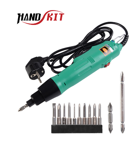 Handskit 220V Electric Screwdriver Set Adjustable Speed Rechargeable Electric Multi-function Cordless Electric Drill Power Tools