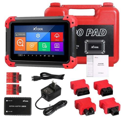 Newest X100PAD XTOOL X100 PAD Key Programmer With Oil Rest Tool Odometer Adjustment and More Special Functions
