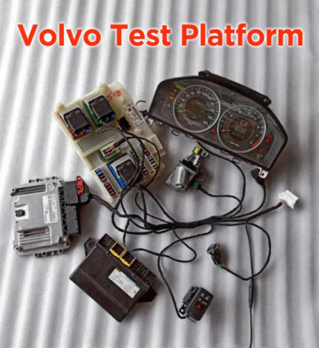 Volvo Test Platform full set with Odometer