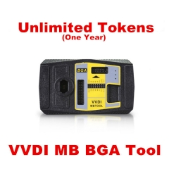 VVDI MB TOOL Unlimited Token Pack For 1 Year