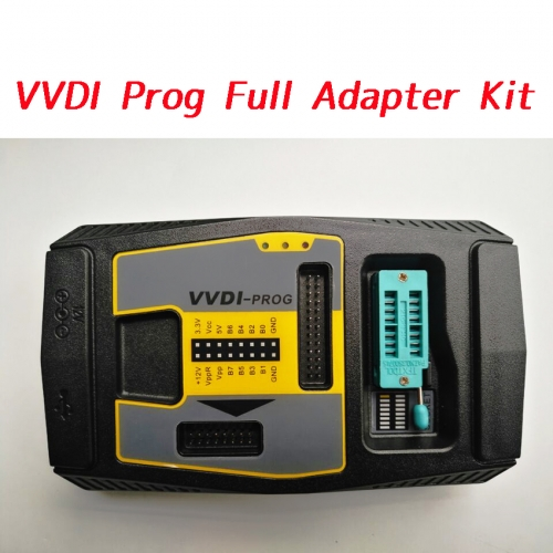 Xhorse VVDI Prog come With Full 11 pieces Adapter Kit for VVDI Prog