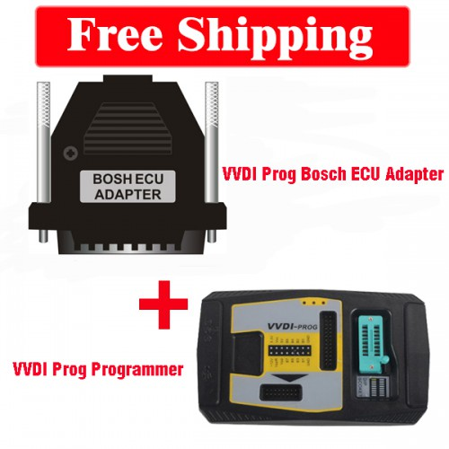 Xhorse VVDI Prog and Bosch ECU Adapter Package Free Shipping