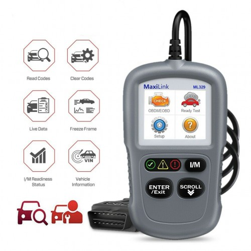 Autel MaxiLink ML329 Code Reader (Advanced Version of Autel AL319)