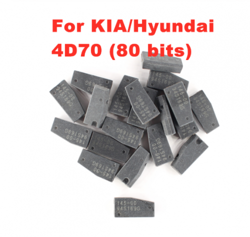 4D70 (80 bits) Immobiliser transponder chip spacaily For KIA / Hyundai ID70