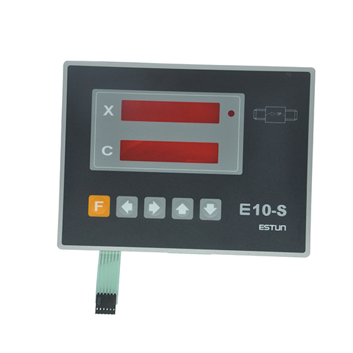 Control Systems for Press Brakes & Shears membrane keypad switch