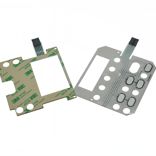 Dryer membrane keypad switch panel