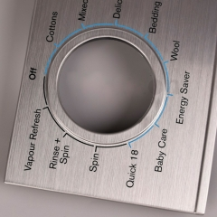 Home appliance washing machine decoration panel