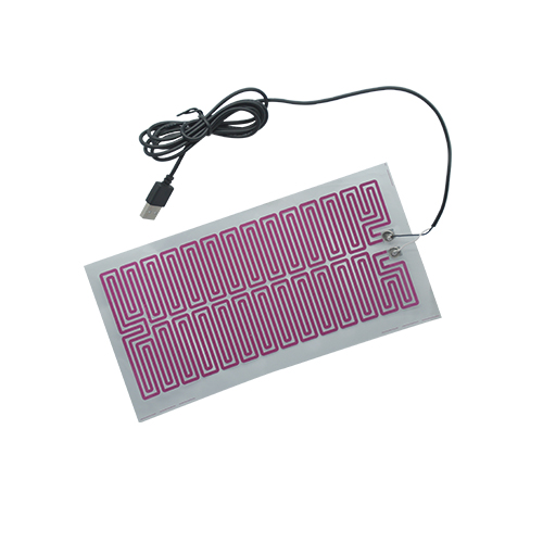 Custom flexible electric thin film heater