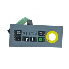 LED membrane switch for Waster Processor