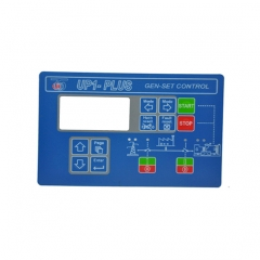 Lexan Label Graphic Overlay for Remote Display Control